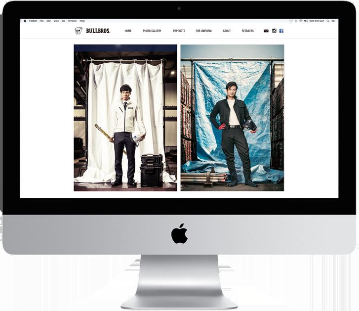 BULLBROS 公式WEBサイト/ECサイト_TOP