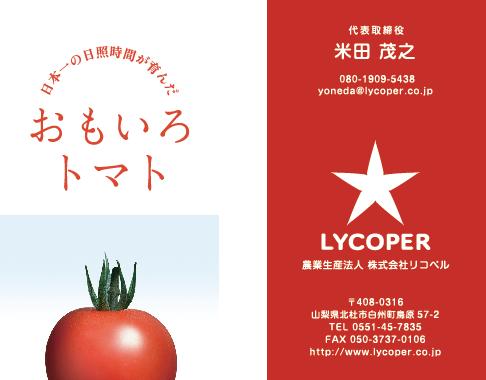 ネーミン_CIロゴ_名刺_licoper