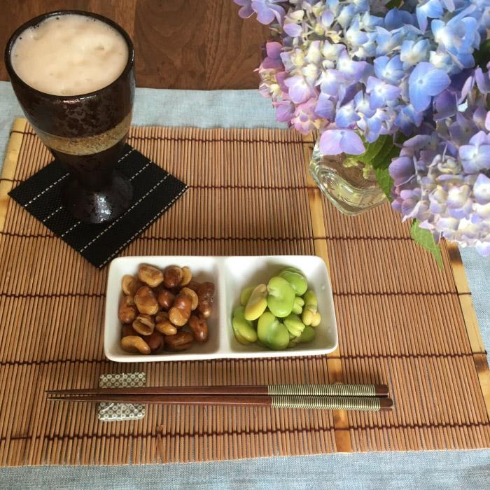 ビールのおつまみ 晩酌 イカリ豆
