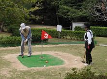 太陽家具杯主催<br>宇部市グランドゴルフ協会