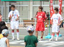 太陽家具筆頭スポンサー <br>社会人サッカー「ヤーマンFC」 <br>(山口県リーグで活躍中)